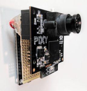Pixy camera shield