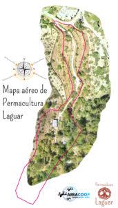 Mapa aereo de Drone para permacultura