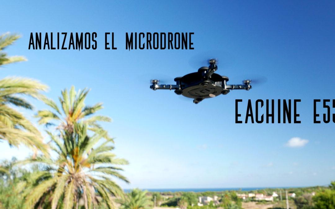Análisis del micro drone plegable Eachine E55