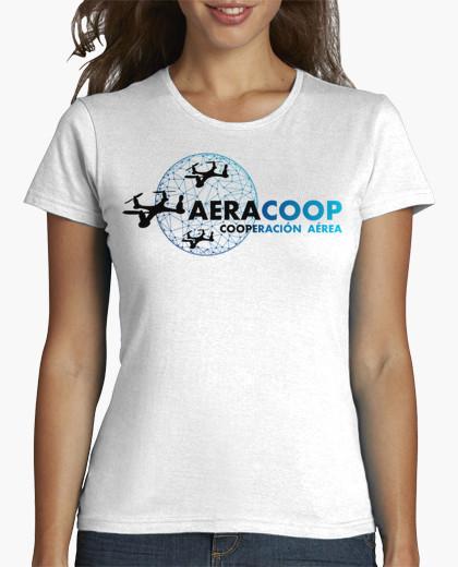 Ropa y camisetas de drones para la cooperación aérea