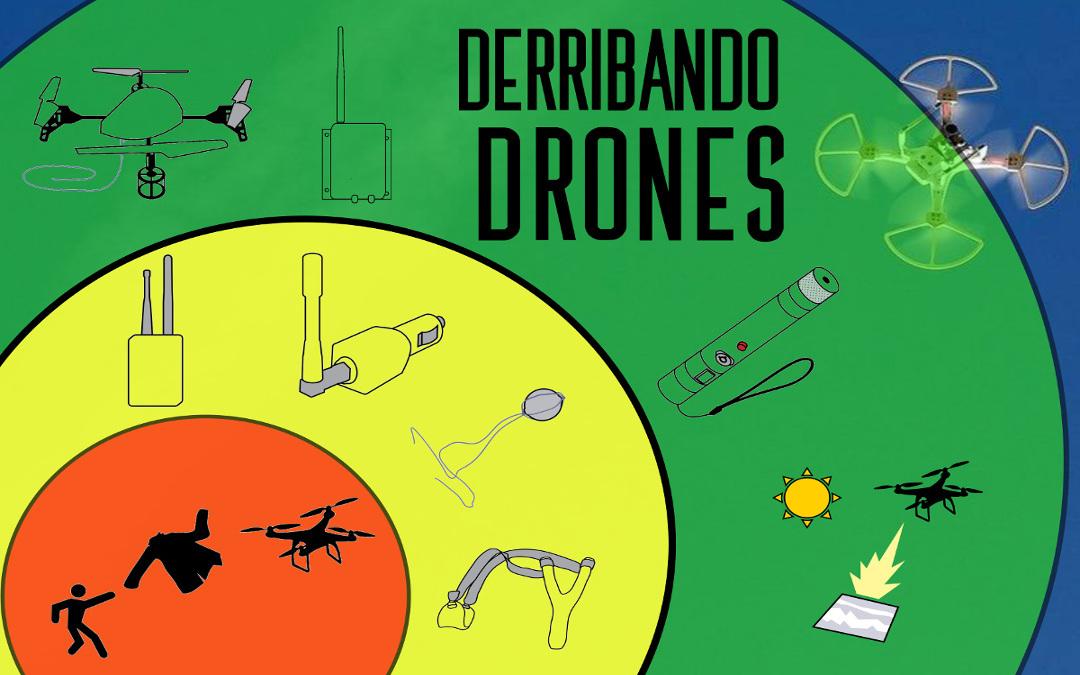 derribar drones