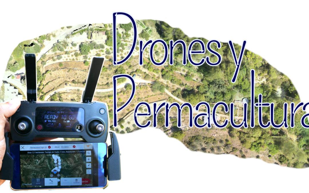 mapping con Drones para permacultura