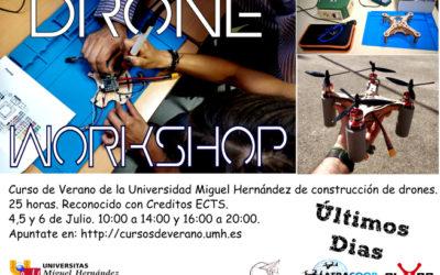 Curso de verano de drones con la UMH