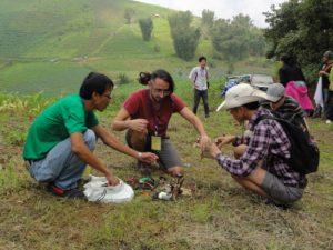 Lot Amoros en taller de drones para la conservación, Thailand