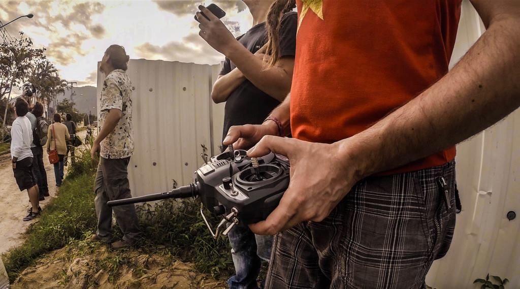 Lot con controladora drone