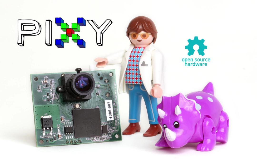 Configuración de la cámara Pixy para tracking de objetos